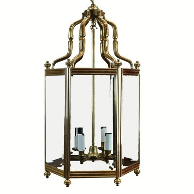 Antique Reclaimed Brass Lantern