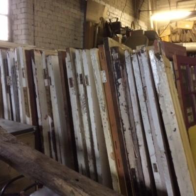 23 original victorian/edwardian external doors