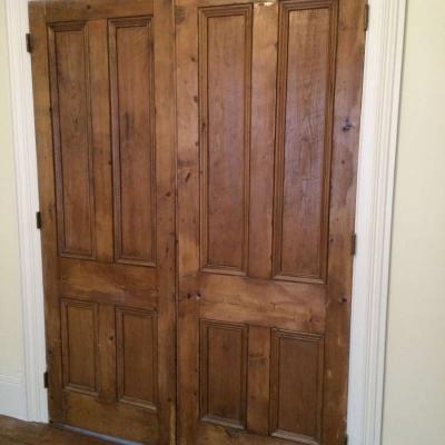 Original pair of Victorian doors