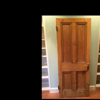 Original Victorian door