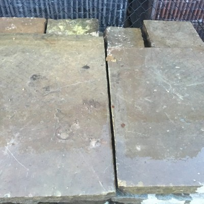 80 sq yds of Reclaimed York Stone Flags £55/sq yd