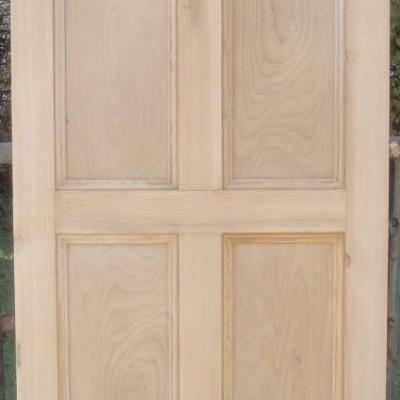 Small 4 panel door.