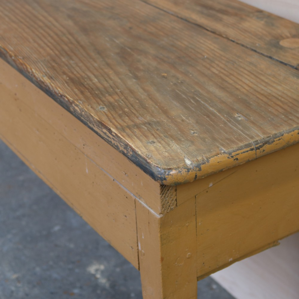 0219bdba0628d For Sale Antique Pine Table with Folding Top- SalvoWEB UK