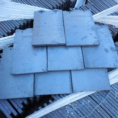 Dreadnaught roofing tile machine made