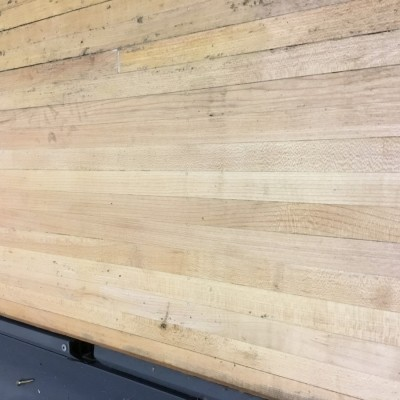 Maple used sections fantastic timber.