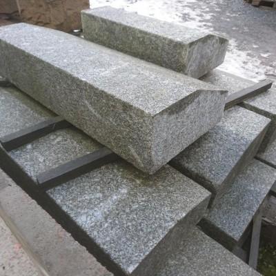 Reclaimed silver granite kerbs