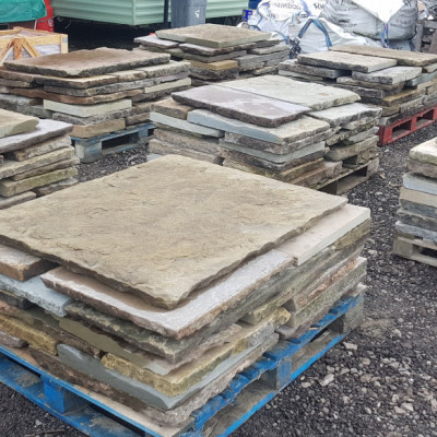 Reclaimed Yorkstone Flags
