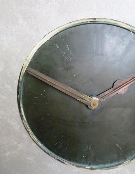 Victorian Clock Face with Hands