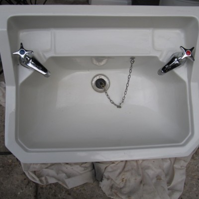 Sink and pedestal