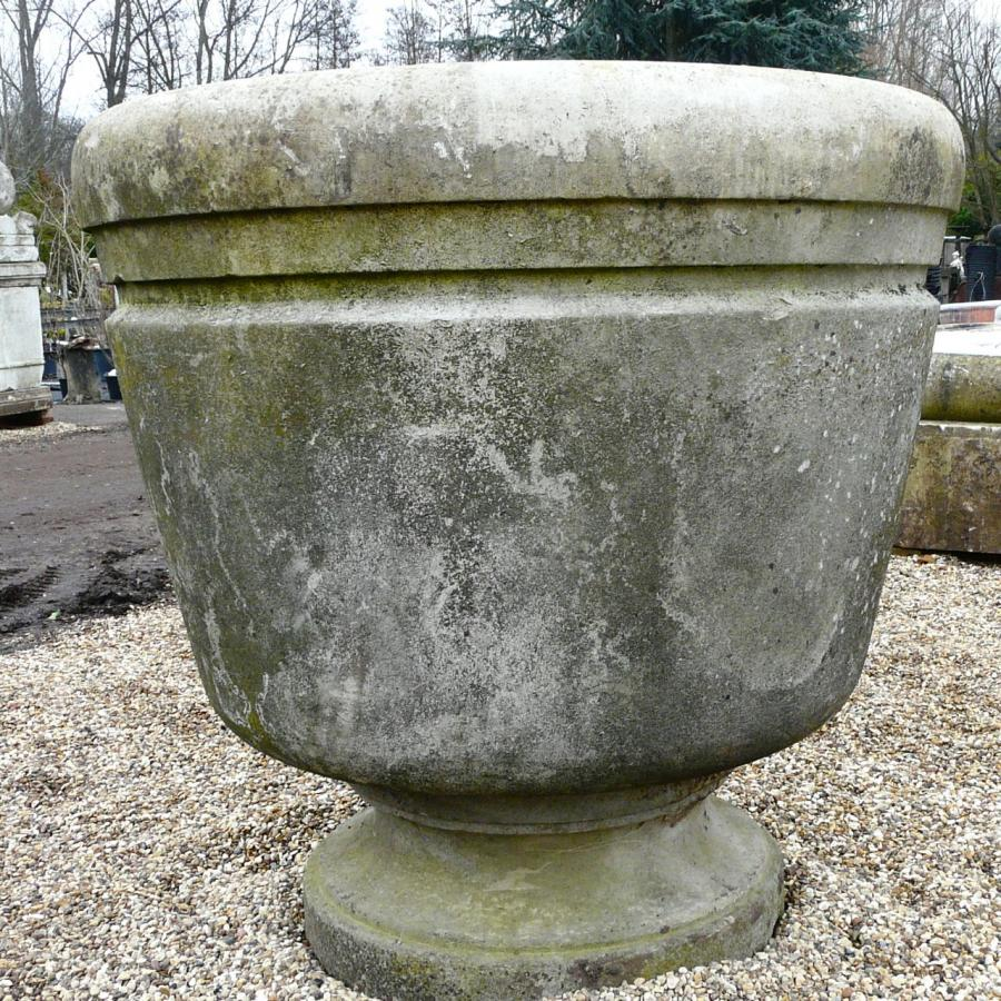 Large Portland Stone Pot