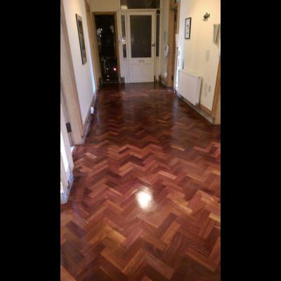 Solid Ekki Parquet Flooring - 500 m2 in stock!