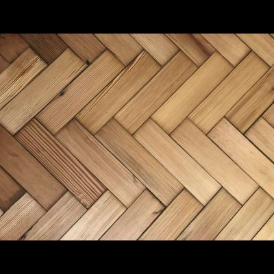Pitch Pine Parquet Flooring - 100 m2 in stock!