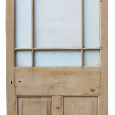 Victorian Stripped Pine Secondary Door