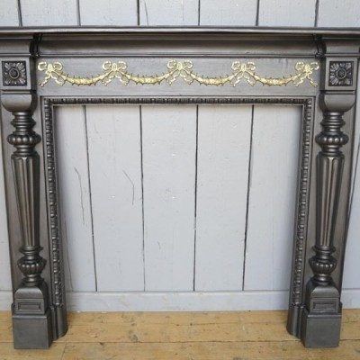 Classic Cast Iron Fireplace Surround