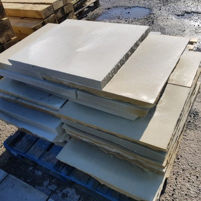 Genuine York stone paving 2'' thick