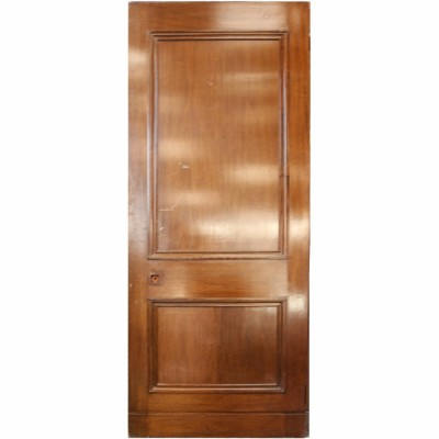 Reclaimed Mahogany Internal Door - 222.5 x 82.5 cm