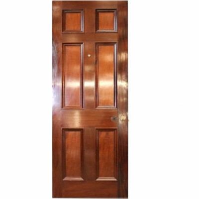 Reclaimed Mahogany Internal Door - 218 x 74.5 cm