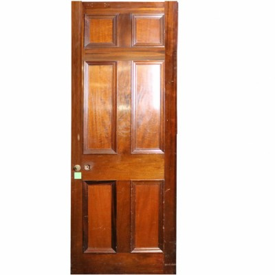 Reclaimed Mahogany Internal Door - 218cm x 80cm