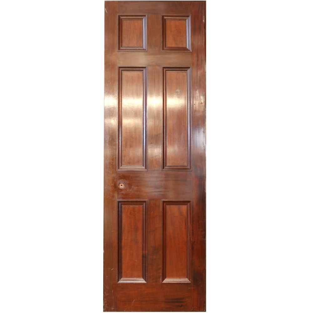 Reclaimed Mahogany Internal Door - 218 x 74 cm