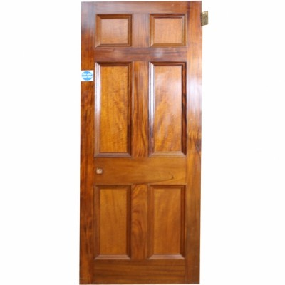 Reclaimed Mahogany Internal Door - 218 x 79 cm