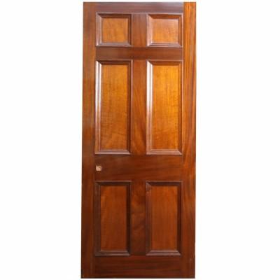 Reclaimed Mahogany Internal Door - 218 x 82cm