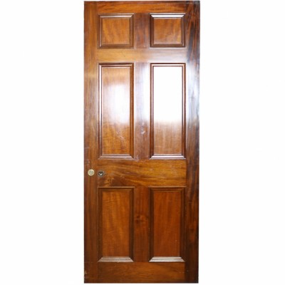 Reclaimed Mahogany Internal Door - 216 x 84 cm