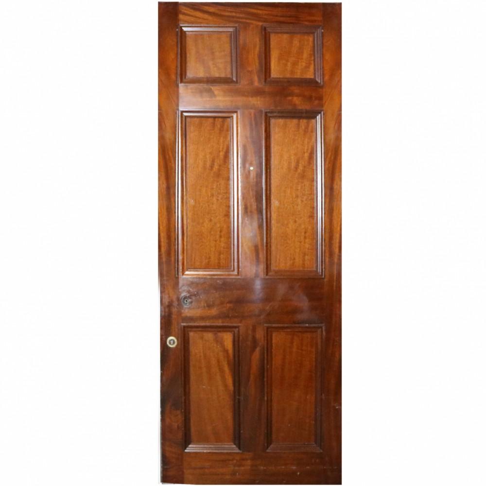 Reclaimed Mahogany Internal Door - 218 x 84cm
