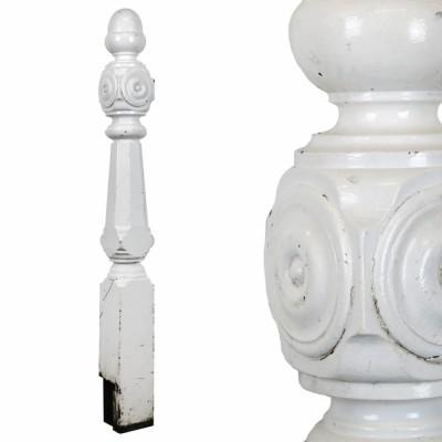 Victorian Wooden Newel Post