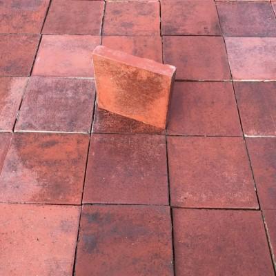 Reclaimed Victorian Terracotta Quarry Tiles