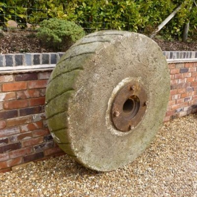 Antique Reclaimed Stone Millstone