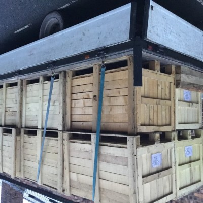 Timber pine used large boxes 50+.