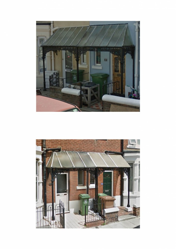 Wanted Wrought Iron Veranda Canopy For A Victorian House