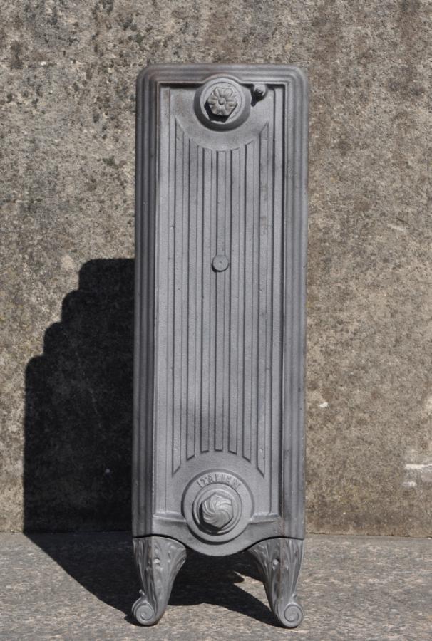 """Antique cast iron """"italian"""" radiator"""