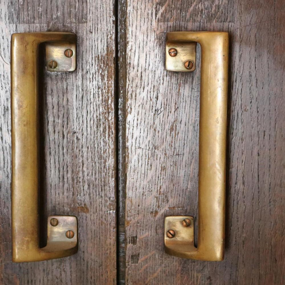 1930's Solid Oak Double Doors