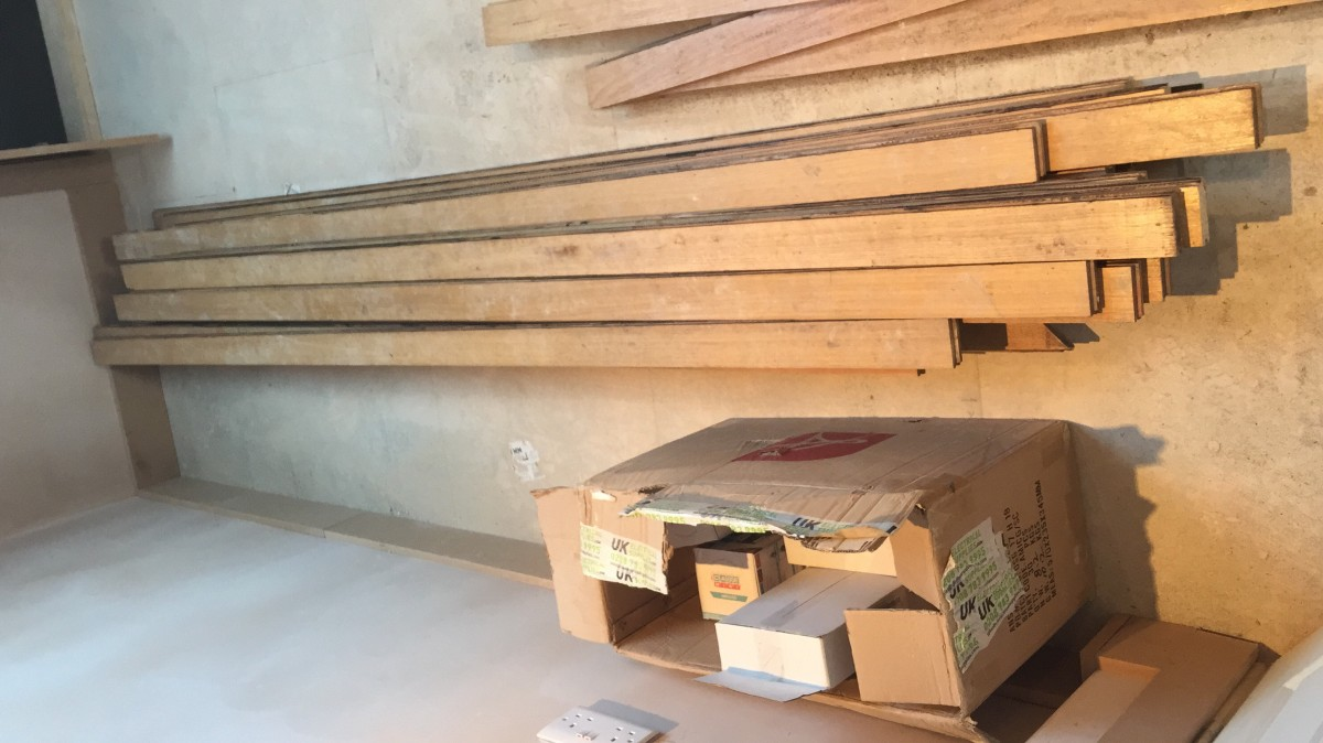 Tasmanian Oak required 2.4M planks required