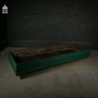 Enormous Victorian Cast Iron Cistern with Detailed Panels and Makers Stamp