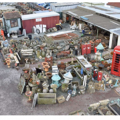Unreserved stock clearance auction at Ben's Tiles & Reclamation