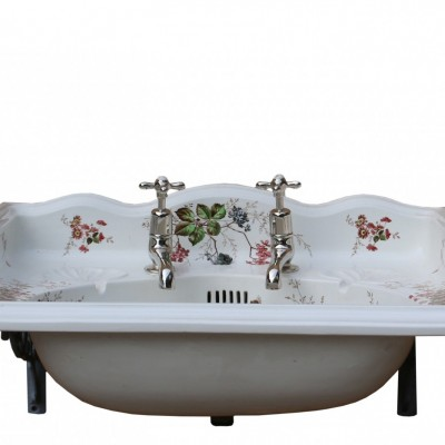 Antique 19th Century Transfer Printed Basin