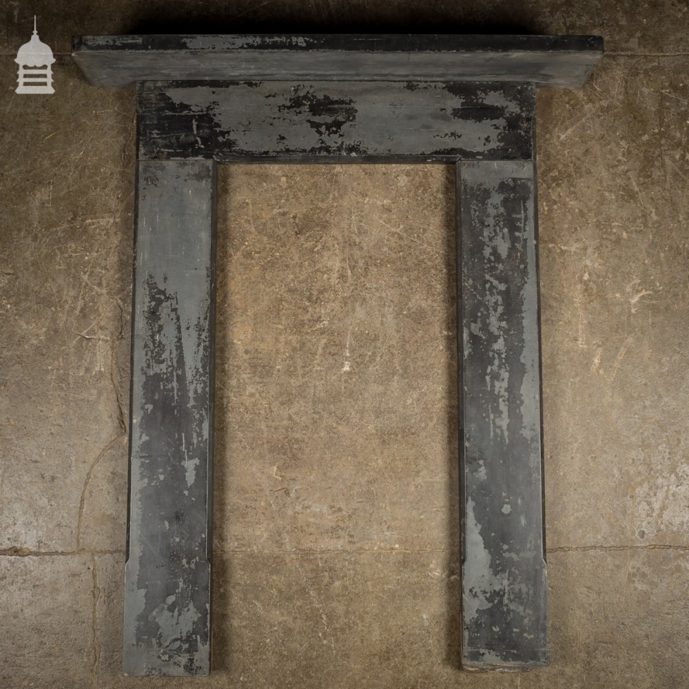 Genial Edwardian Slate Bedroom Fireplace Surround