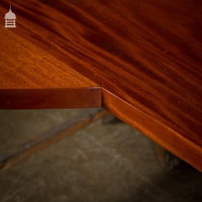 Large Vintage Mahogany Counter Top Breakfast Bar