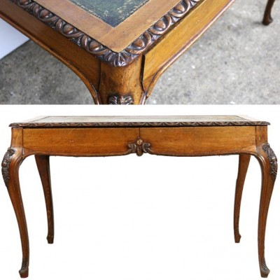 Antique Oak Writing Desk
