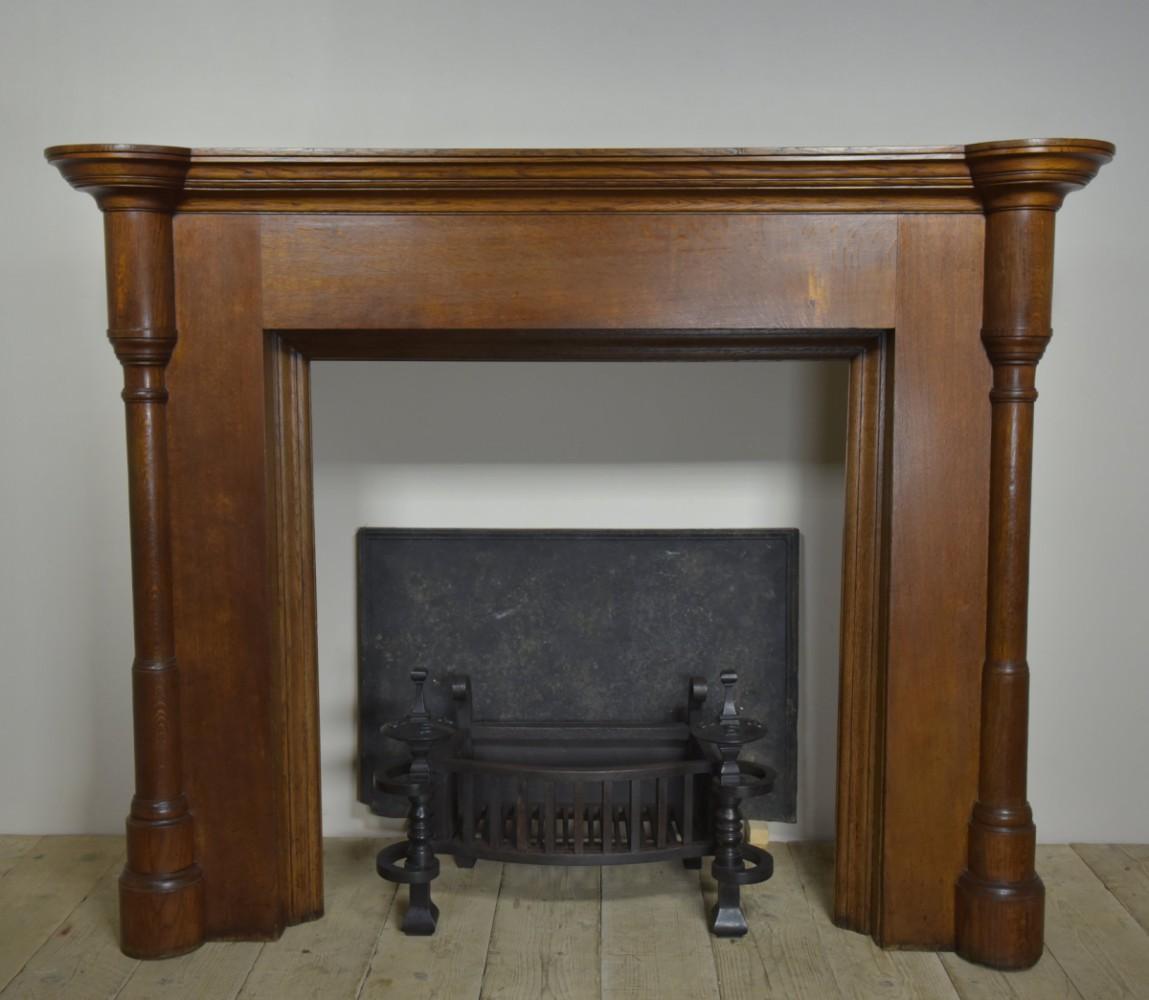 Serpentine antique firegrate