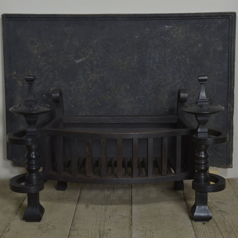 18th Century Antique Cast Iron Fireback