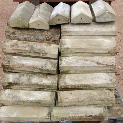 Reclaimed Portland Stone Wall Capping