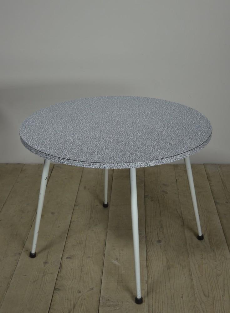 1950s Circular Cafe Tables