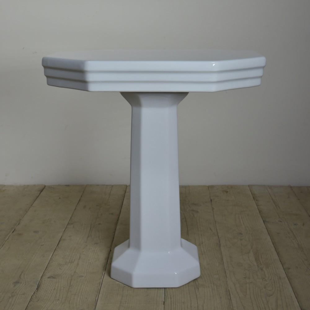 Ceramic console table