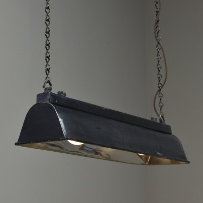 Antique Hanging Trough Shade Light