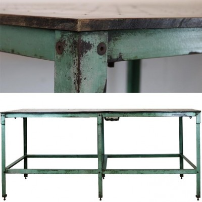 Industrial Printers Table with Integrated Drying System