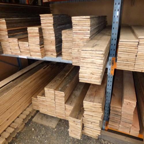 "Reclaimed 8"" Pine Flooring"