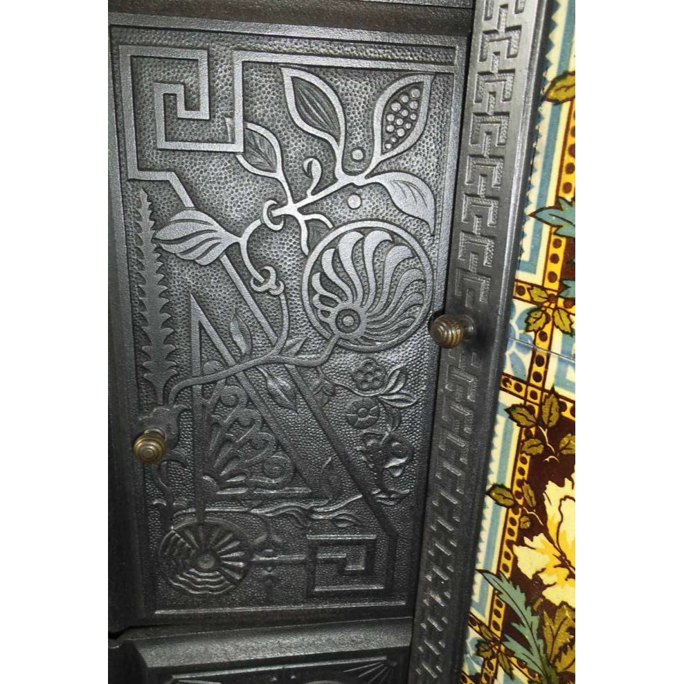 Larger middle door Japanese pattern.